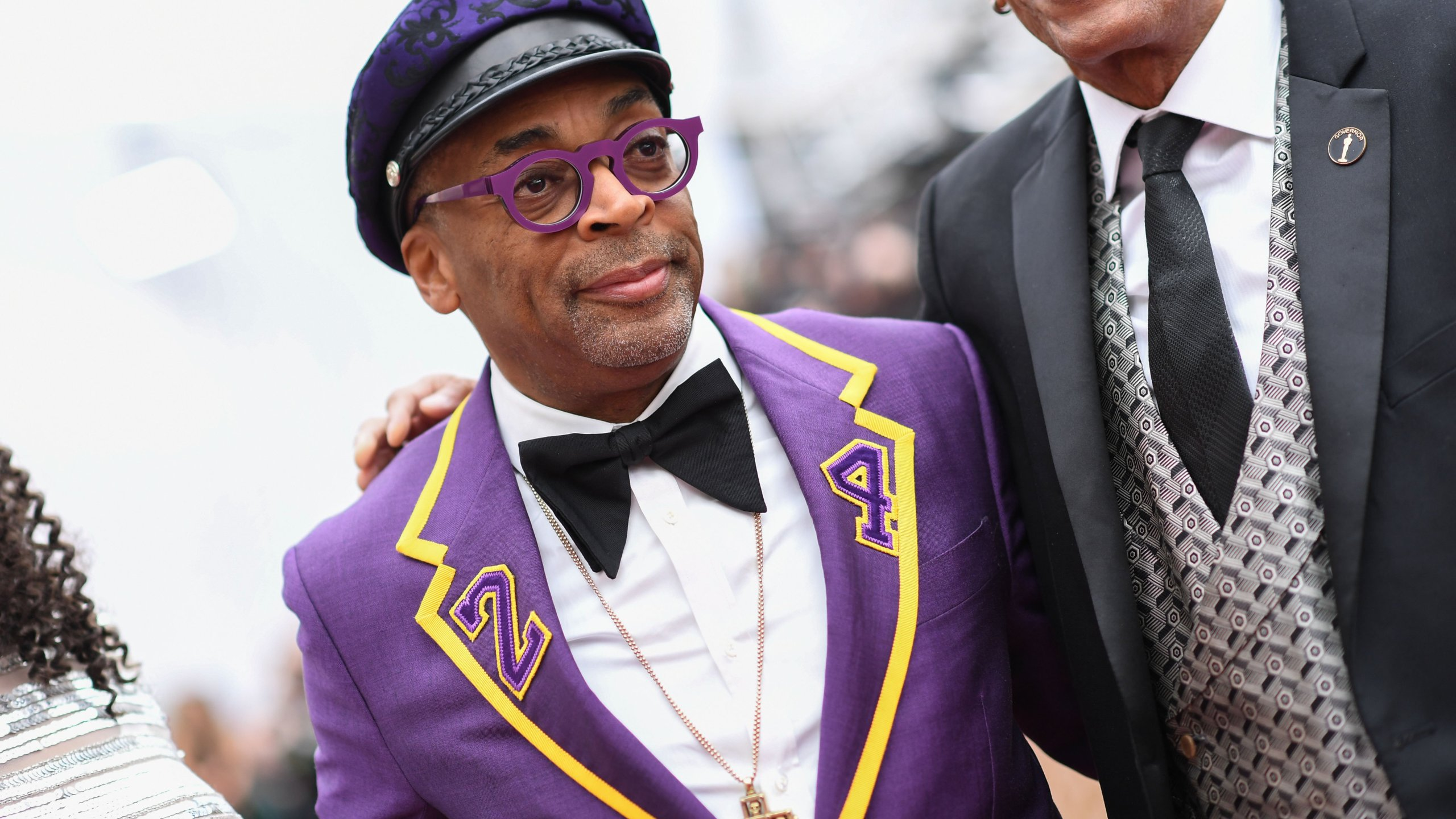 Director Spike Lee arrives at the 92nd Oscars at the Dolby Theatre in Hollywood on Feb. 9, 2020. (Credit: VALERIE MACON/AFP via Getty Images)