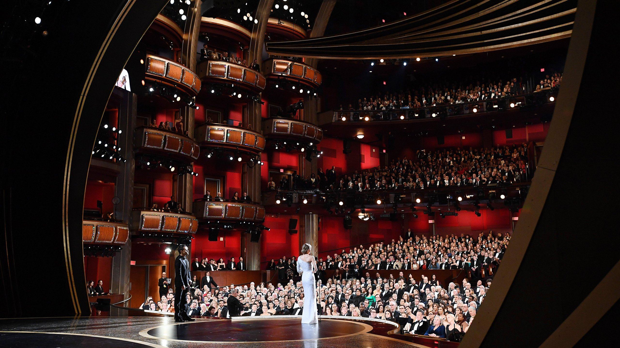 The 92nd Annual Academy Awards at the Dolby Theatre on Feb. 9, 2020, in Hollywood, California. (Credit: Richard Harbaugh - Handout/A.M.P.A.S. via Getty Images)
