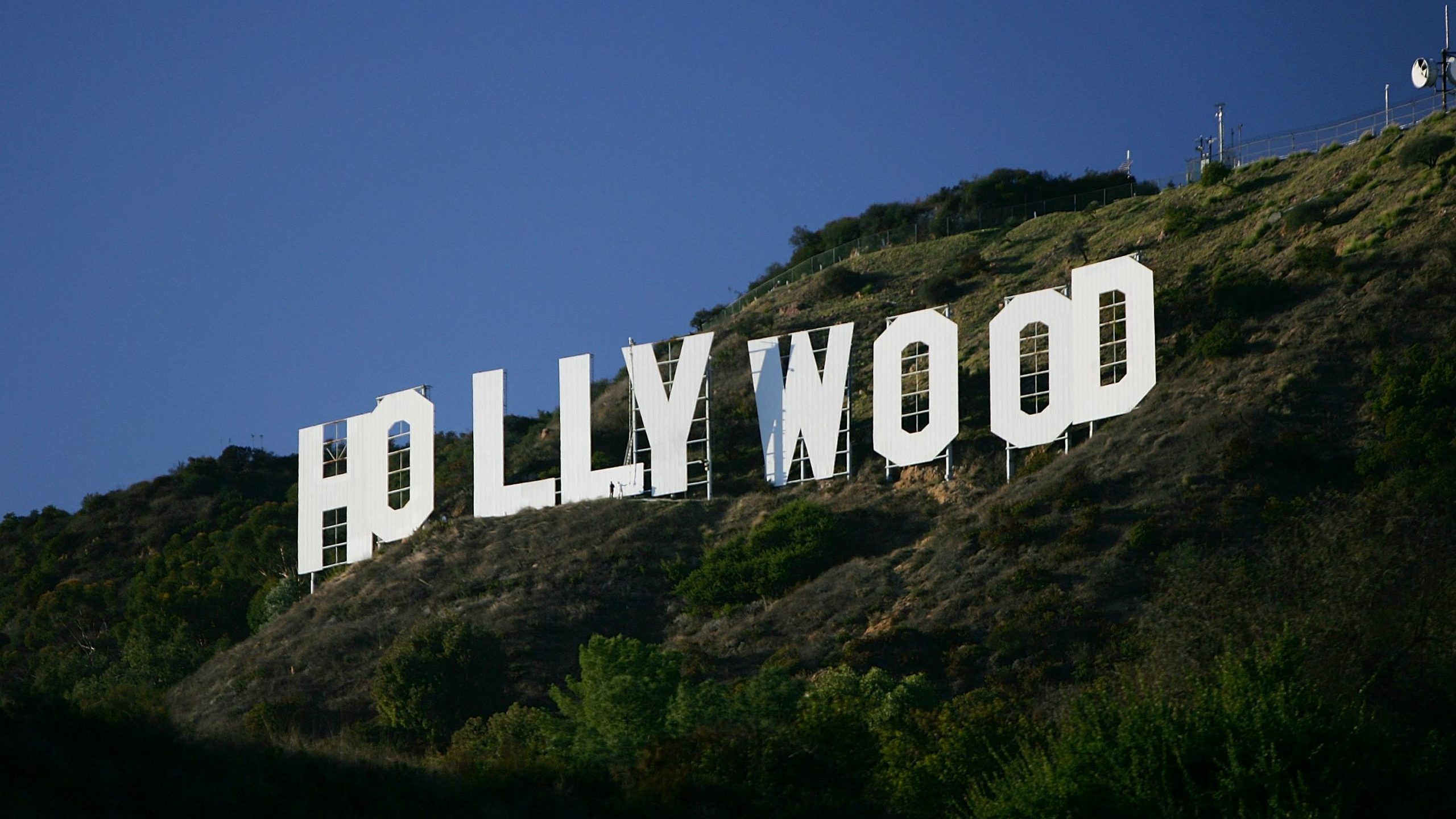 The Hollywood Sign is seen on Nov. 16, 2005, in Los Angeles, California. (Credit: David McNew/Getty Images)