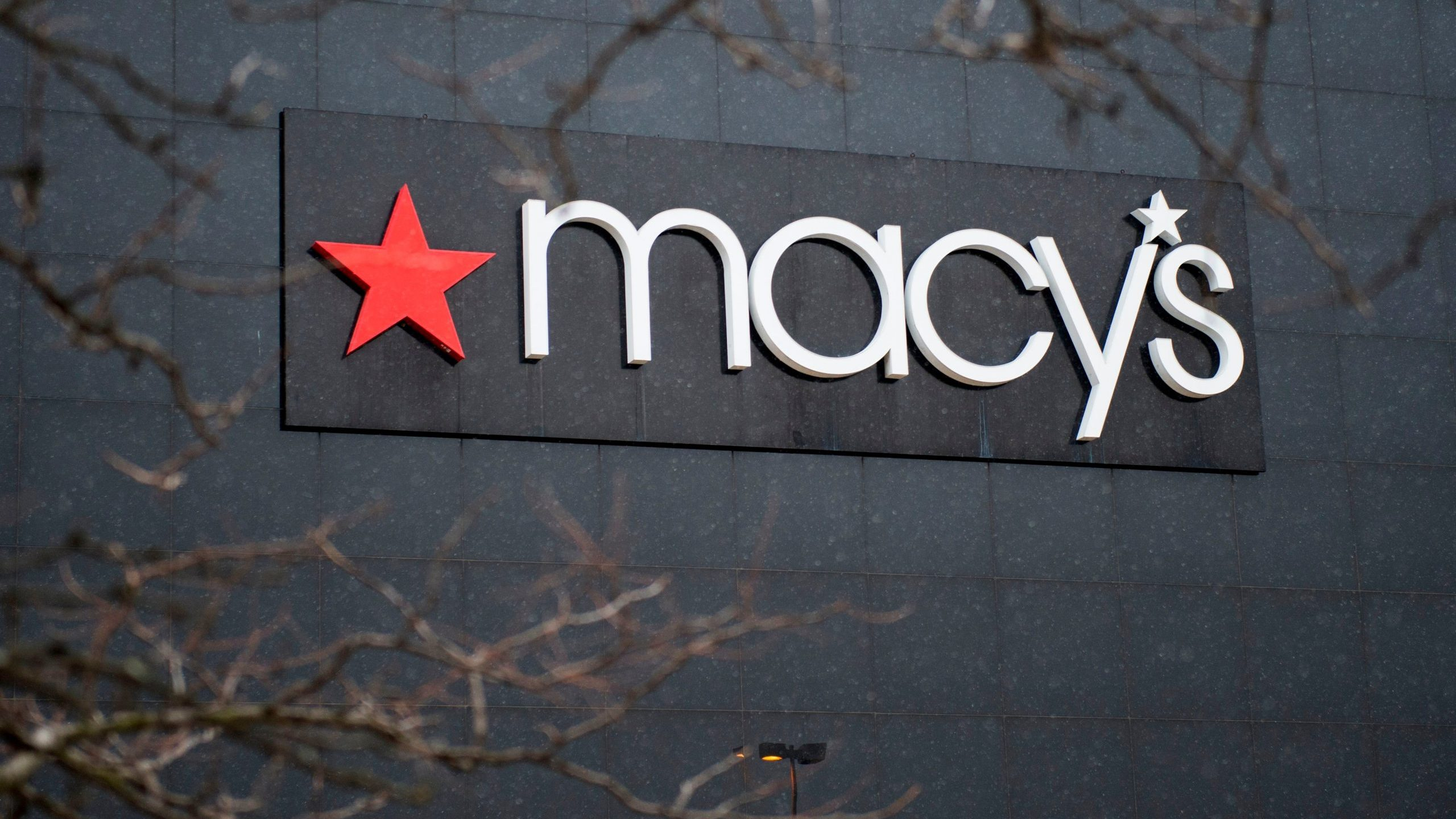 The exterior of a Macy's department store is seen at the Landmark Mall on Jan. 5, 2017, in Arlington, Virginia. (Credit: ANDREW CABALLERO-REYNOLDS/AFP via Getty Images)
