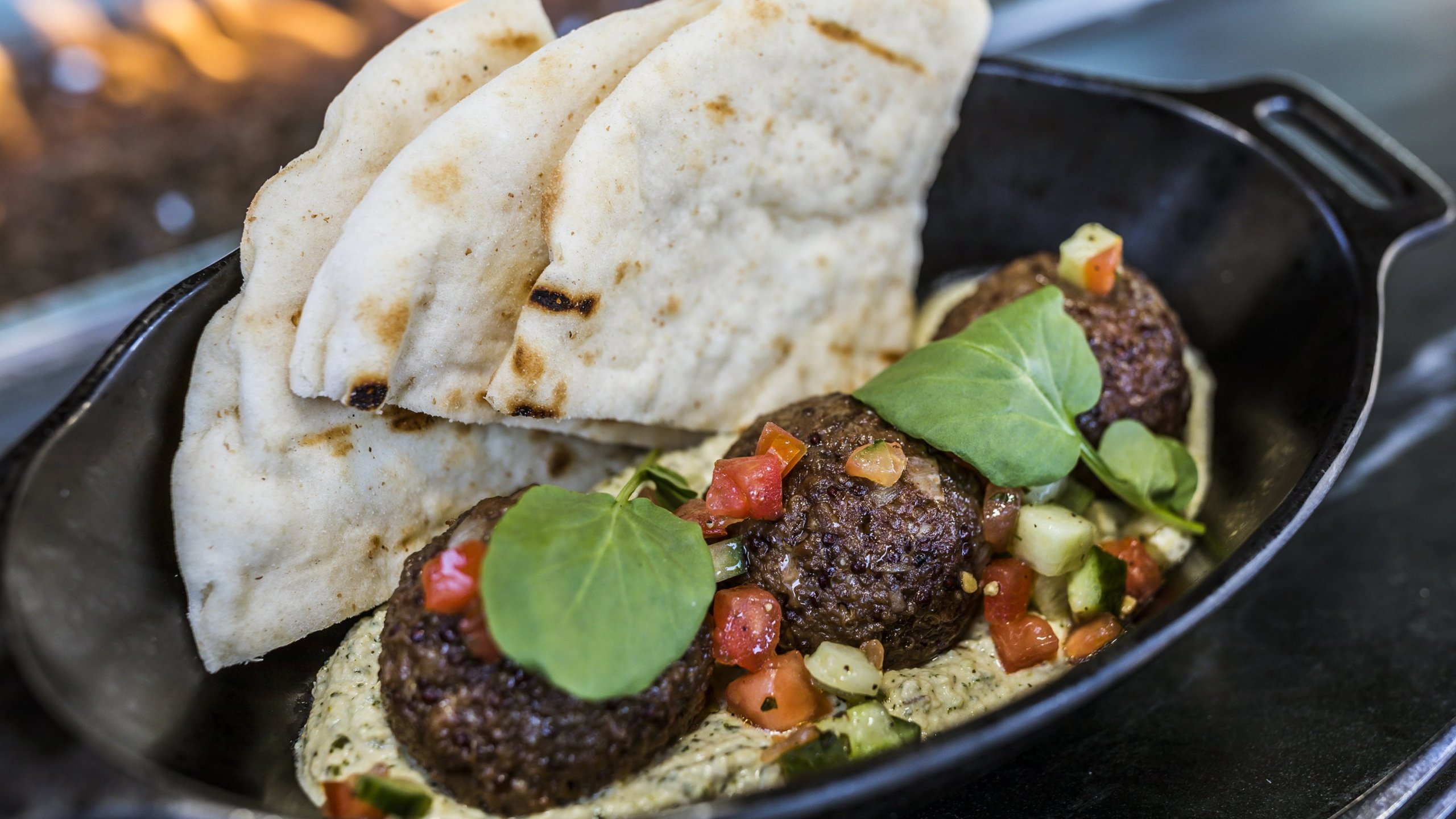 """A meal served at Star Wars: Galaxy's Edge called a """"Felucian Garden Spread."""" (Credit: Disney)"""