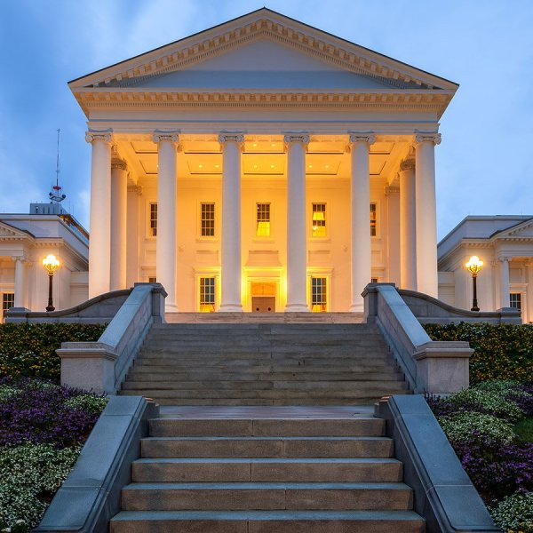 The Virginia State Capitol is seen in an undated photo. (Credit: Joe Daniel Price/Getty Images)