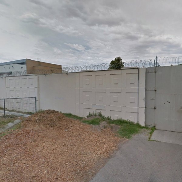 Los Padrinos Juvenile Hall in Downey appears in an image from Google Maps.