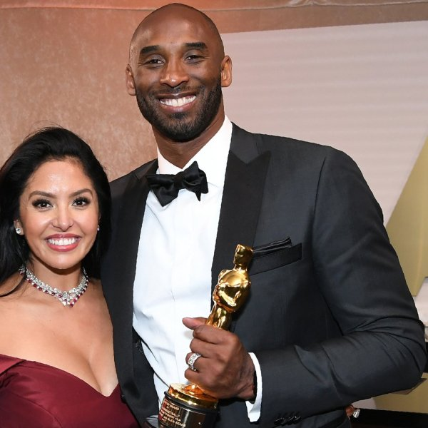 Kobe Bryant and his wife Vanessa Bryant attend the 90th Annual Academy Awards Governors Ball at the Hollywood & Highland Center on March 4, 2018, in Hollywood.(Credit: ANGELA WEISS/AFP via Getty Images)