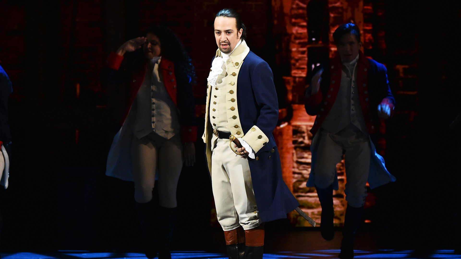 Lin-Manuel Miranda of 'Hamilton' performs onstage during the 70th Annual Tony Awards at The Beacon Theatre in New York City on June 12, 2016. (Credit: Theo Wargo/Getty Images for Tony Awards Productions)