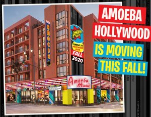 Amoeba Music released this photo illustration of its new Hollywood location, expected to open in fall, on Feb. 5, 2020.