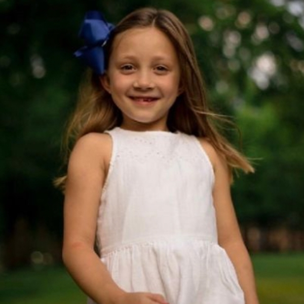 Paisley Cogsdill is seen in an image posted to a GoFundMe page.