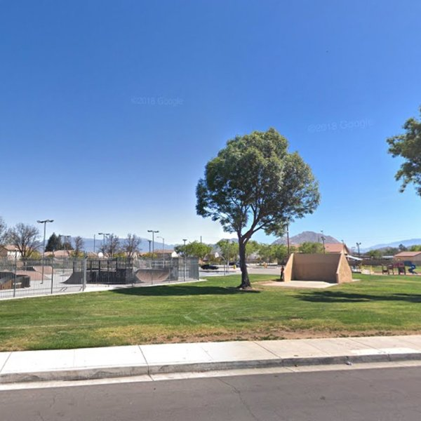 Paragon Park in Perris is seen in a Google Maps Street View image.