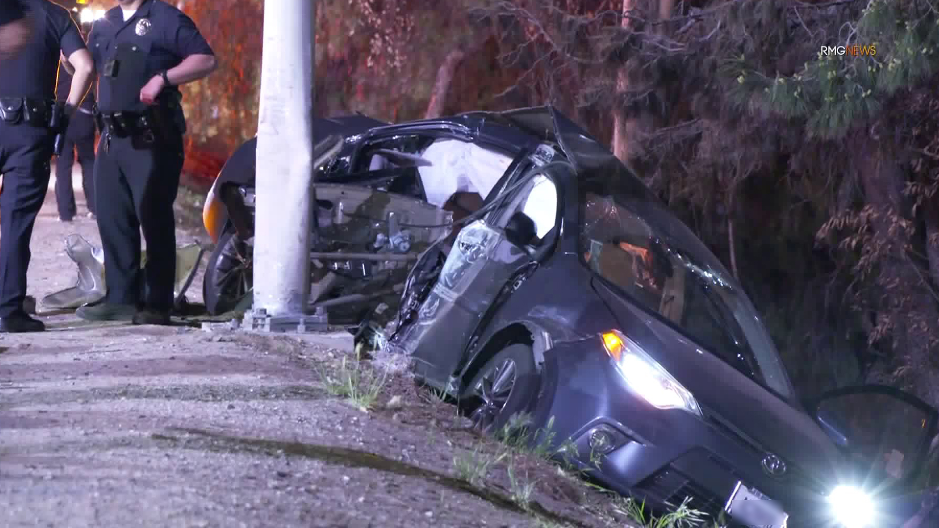 3 Teens Injured 1 Critically After Stolen Vehicle Pursuit Ends