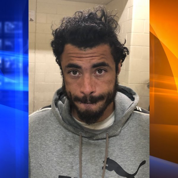 Brian Mendez, 32, of San Jacinto, pictured in in a photo released by the San Bernardino County Sheriff's Department following his arrest on Feb. 20, 2020.