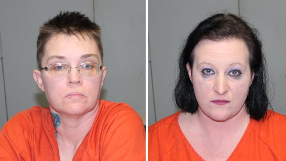 Pictures of Debra England (left) and Katrina England were released from the Daviess-Dekalb Regional Jail on Feb. 13, 2020.
