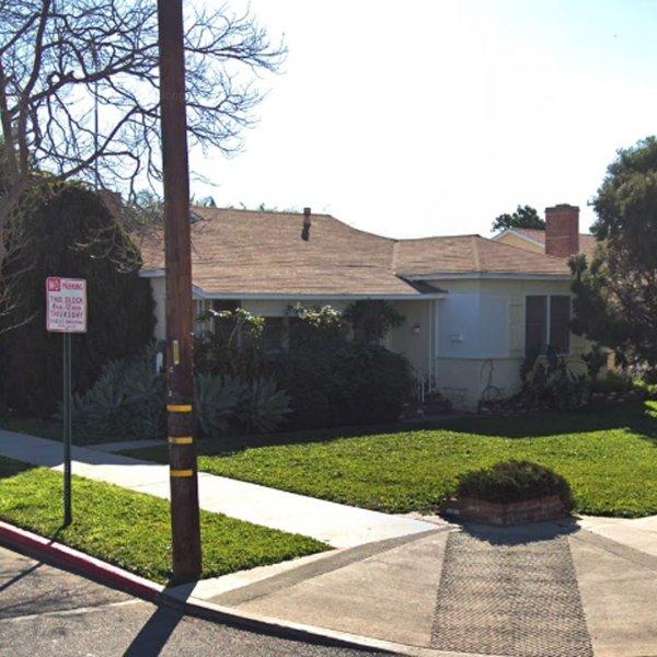1203 South Baker Street in Santa Ana, as viewed in a Google Street View image.