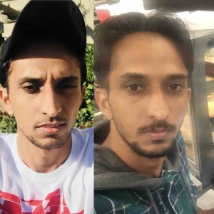 Maninder Singh Sahi is seen in side-by-side photos posted to a GoFundMe page set up by family members.