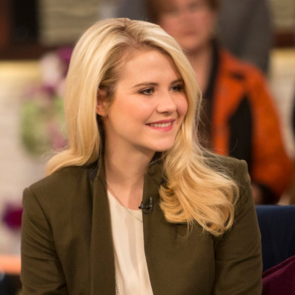 Elizabeth Smart is pictured on Nov. 14, 2017 (Photo by: Zach Pagano/NBCU Photo Bank/NBCUniversal via Getty Images via Getty Images)