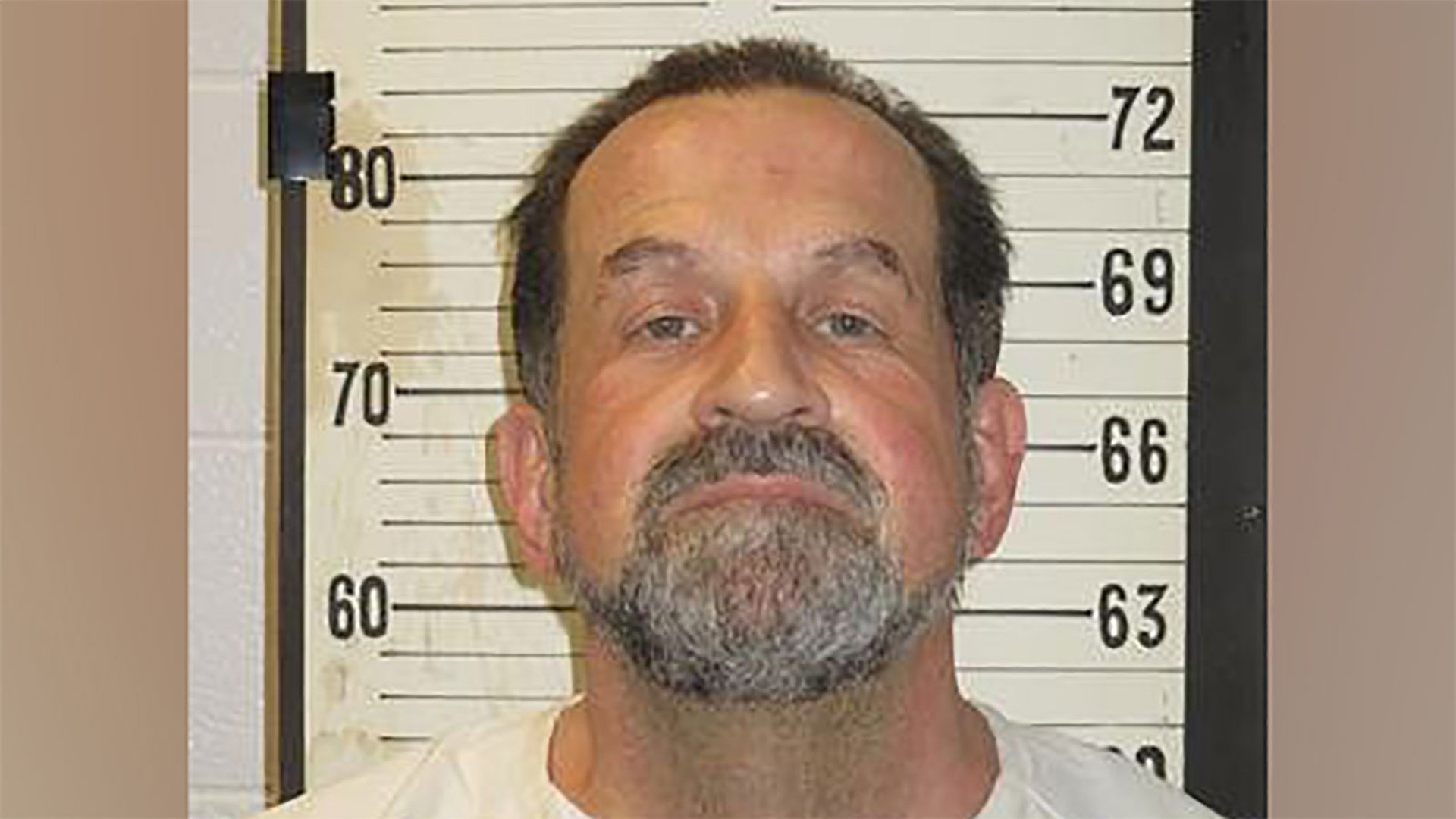 Nicholas Sutton is seen in a photo from the Tennessee Department of Corrections.