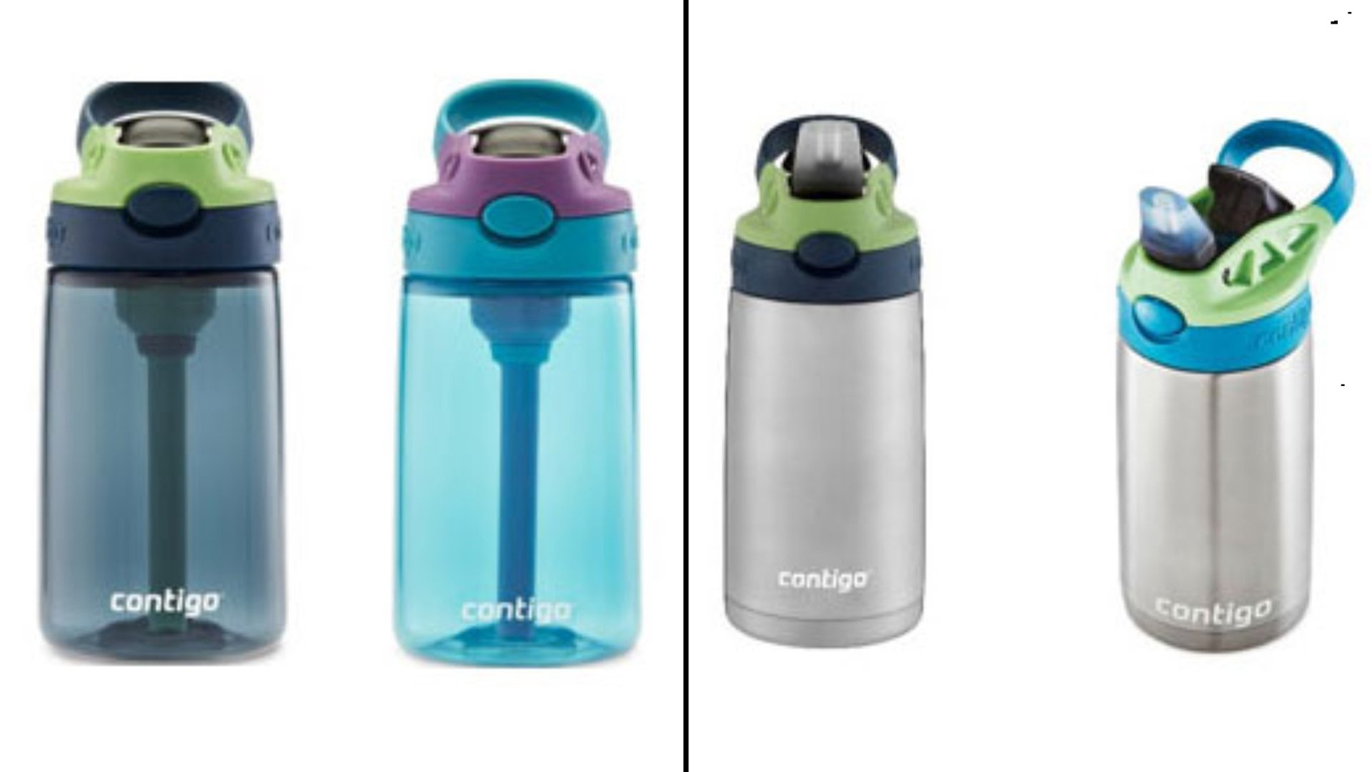 Contigo reannounced a recall of about 5.7 million of its kids water bottles on Feb. 19, 2020. Credit: CPSC.gov)