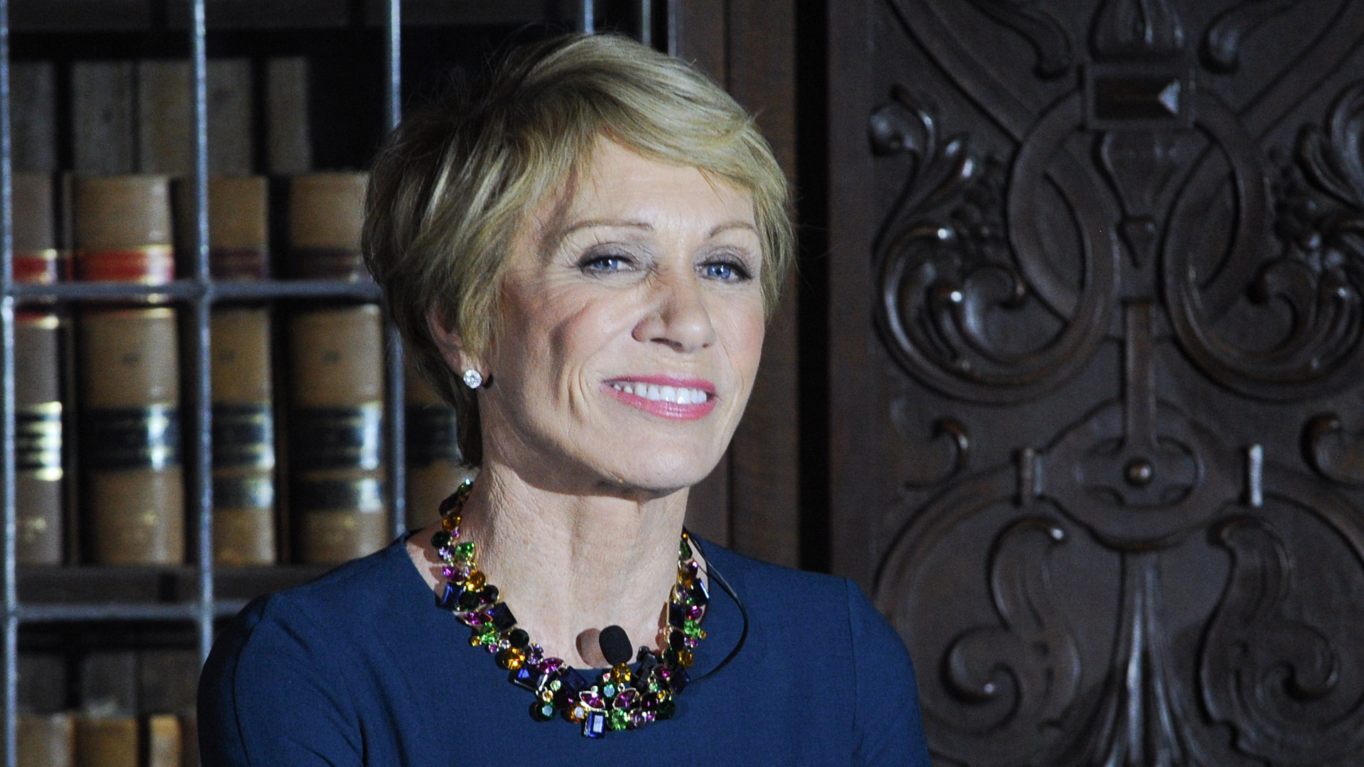 """Shark Tank"" judge Barbara Corcoran, seen here on April 5, 2018 in Toronto, Canada, is ""thrilled"" about getting back nearly $400,000 after it was stolen in an elaborate email scam. (GP Images/Getty Images)"