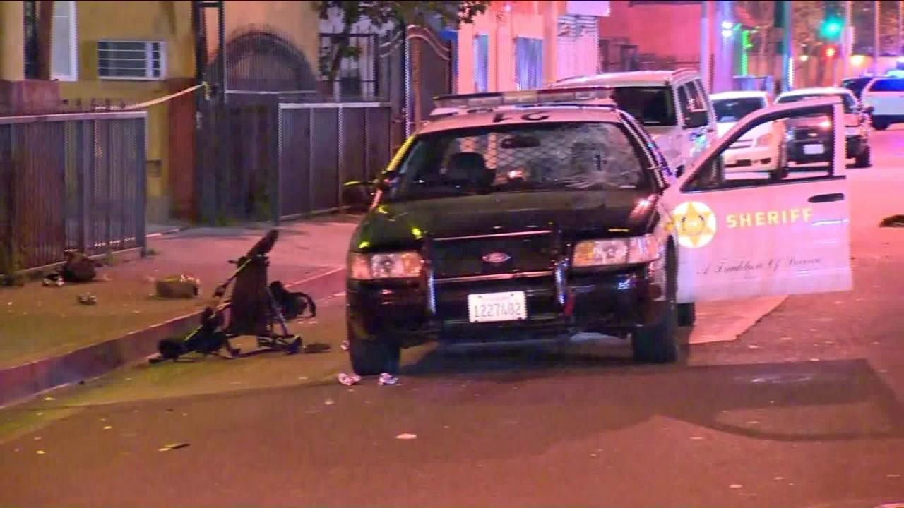 Woman Struck By Sheriff S Department Patrol Car In Lynwood