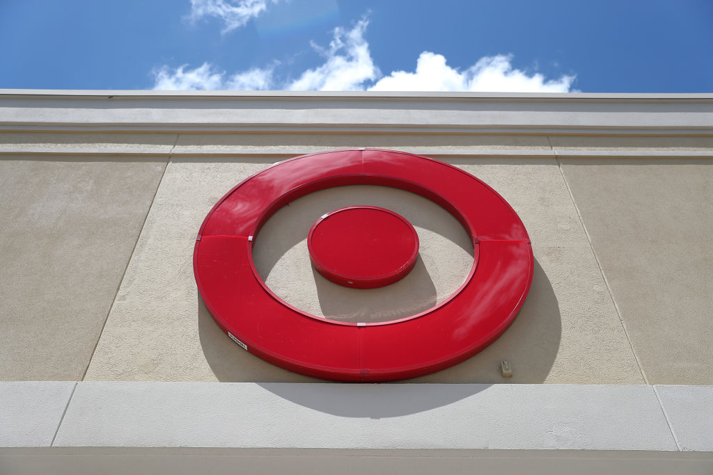 A Target sign outside a store is seen in a file photo. (Joe Raedle/Getty Images)