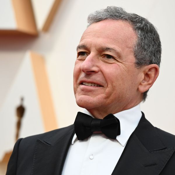 Disney CEO Bob Iger arrives for the 92nd Oscars at the Dolby Theatre in Hollywood on Feb. 9, 2020. (Robyn Beck / AFP via Getty Images)