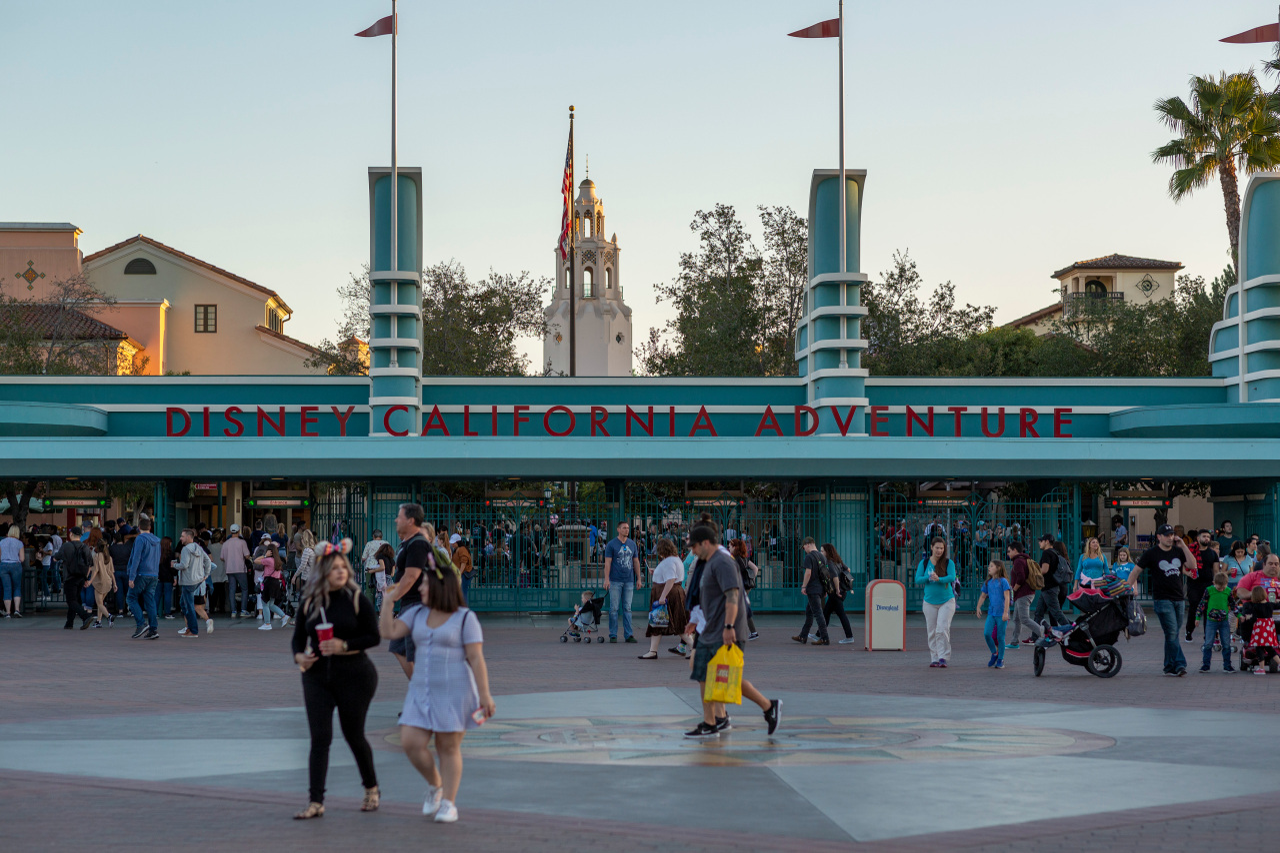 Downtown Disney to extend into California Adventure theme park in November