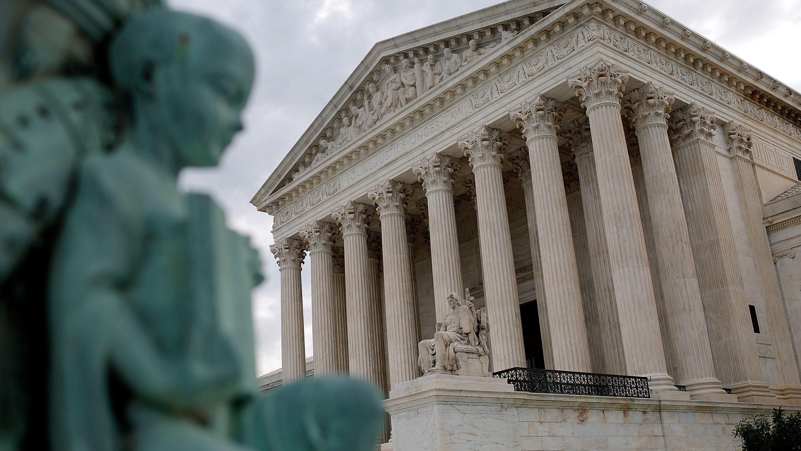 The U.S. Supreme Court is seen on May 23, 2016 in Washington, D.C. (Win McNamee/Getty Images)