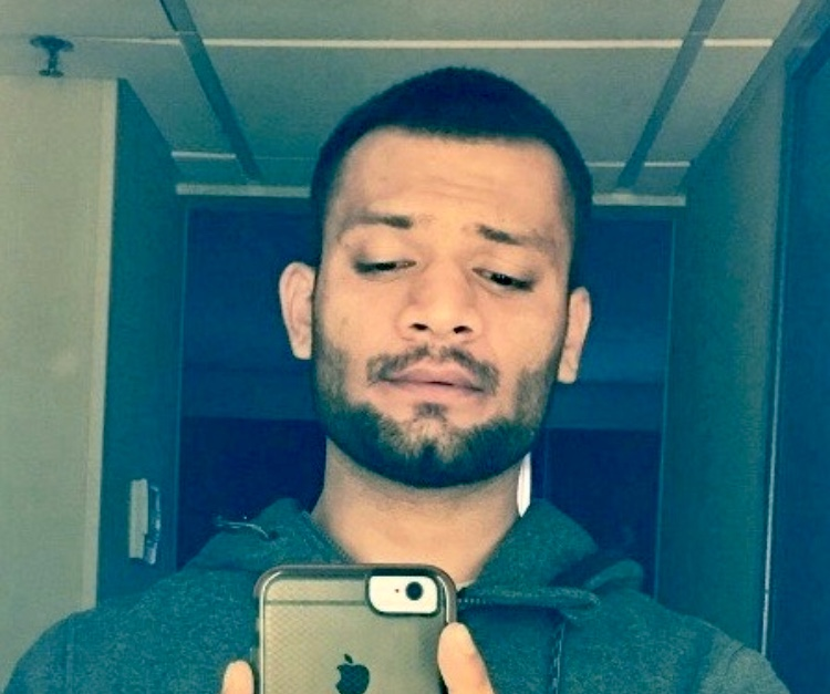 """Homicide victim Waqar """"Vic"""" Tarvee, 28, of Fontana, pictured in a photo provided by the Riverside Police Department on March 6, 2020."""