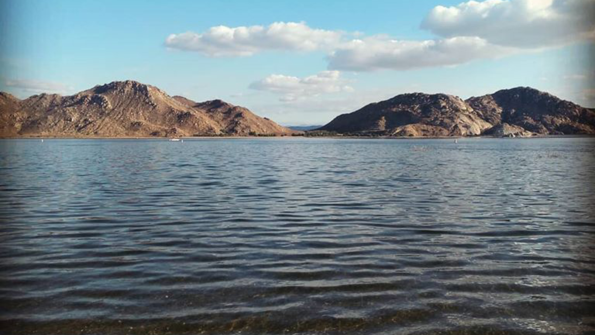 Lake Perris is seen in an image released by the Lake Perris State Recreation Area on Nov. 22, 2019.
