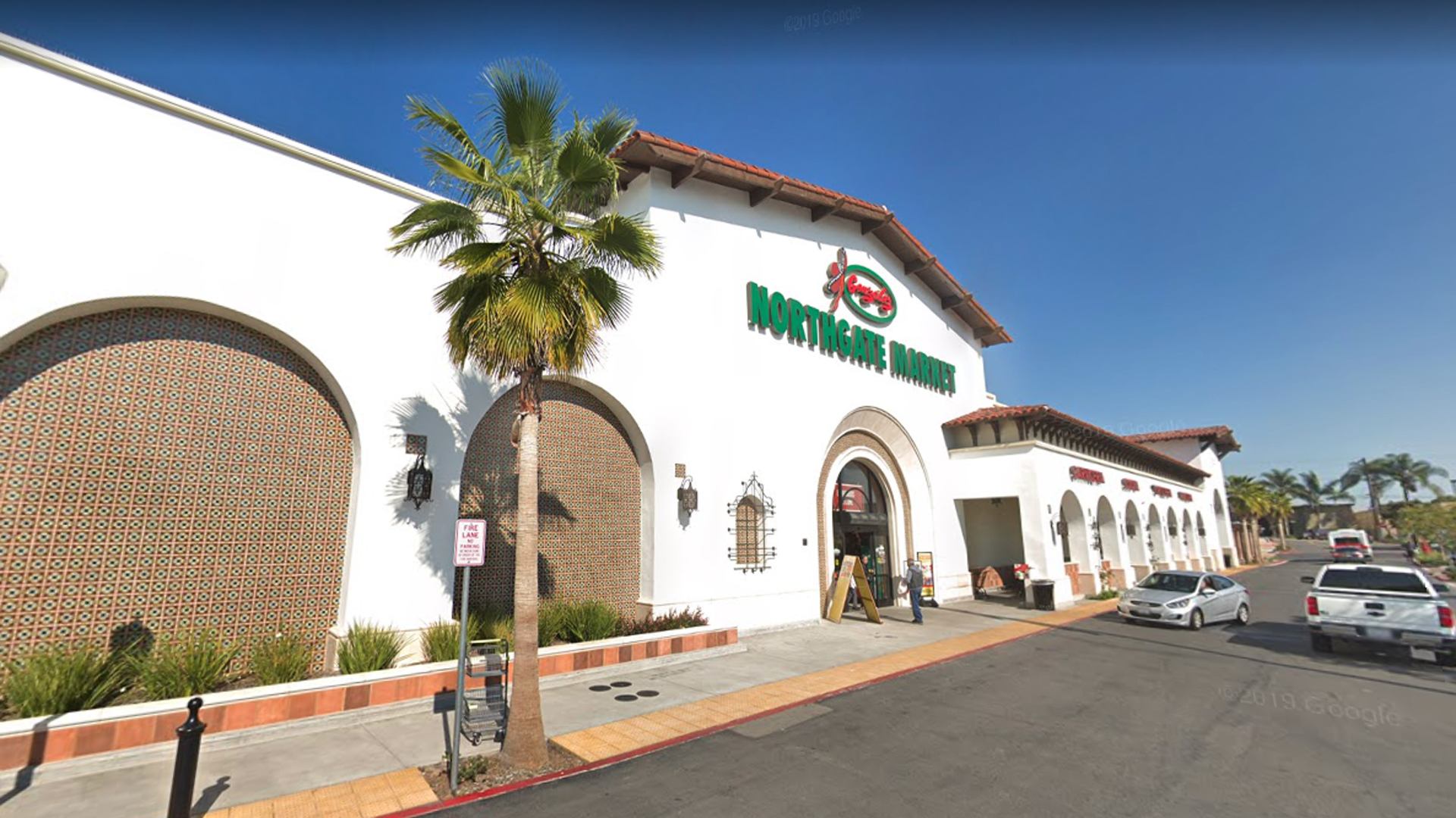 The Northgate Market in La Habra, as pictured in a Google Street View image.