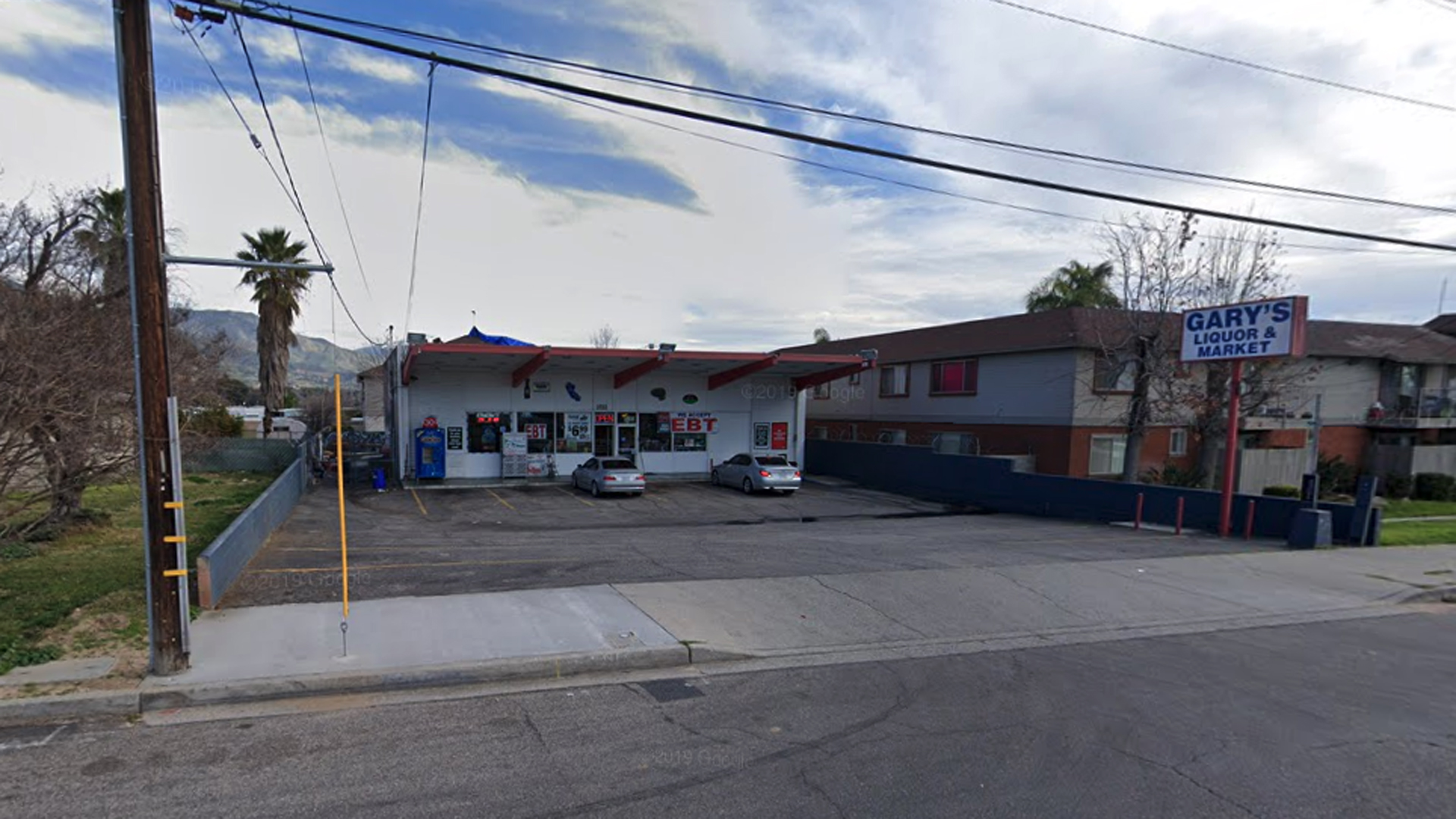 Gary's Liquor and Market, 3133 North Golden Ave. in San Bernardino, as pictured in a Google Street View image.