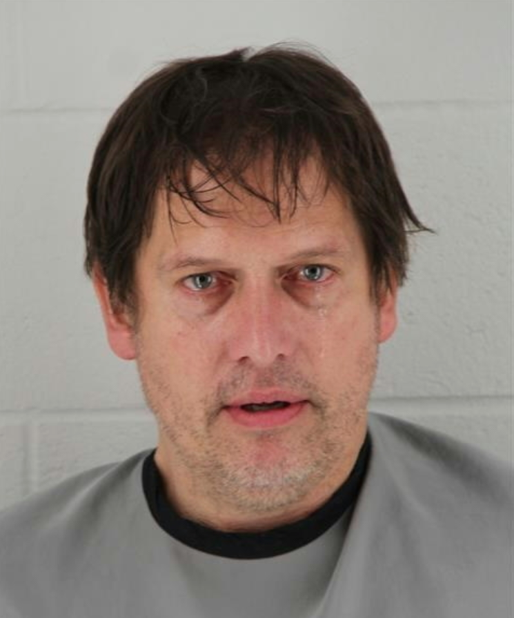 John Sebestyen, who was taken into custody by the Johnson County Sheriff's Office in Kansas in February 2019, appears in a booking photo posted on the agency's website.