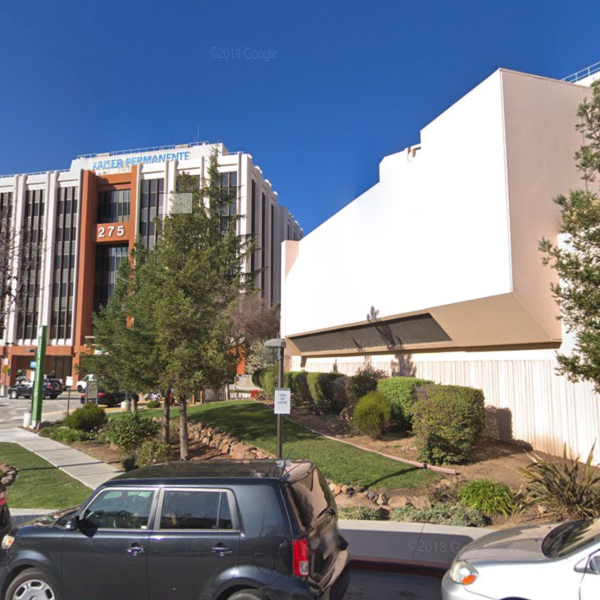 The Kaiser Permanente San Jose Medical Center is seen in a Google Maps Street View image.