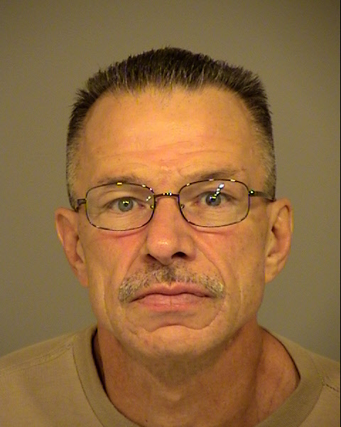 Ross Wollschlager , 56, pictured in a photo released by the Ventura County Sheriff's Department on March 19, 2020.