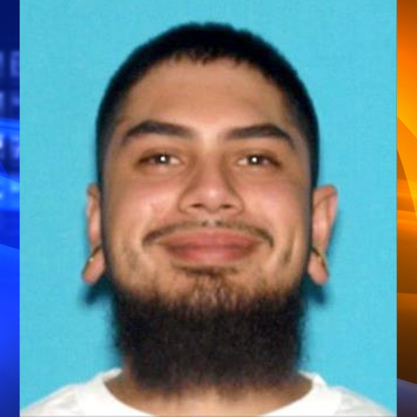 Isaiah Gerardo Zamora, 22, of San Bernardino, pictured in a photo released by the San Bernardino Police Department following his arrest on March 7, 2020.