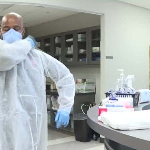 Across the country, health care workers on the frontlines of the escalating fight against Covid-19, the disease caused by the novel coronavirus, describe a grim scene of rationed personal protective equipment -- widely known as PPE -- and lack of testing. (CNN)