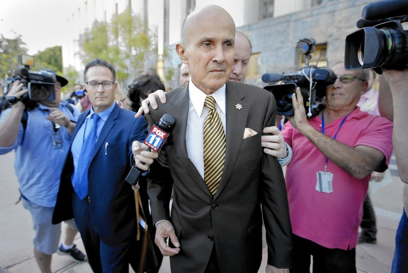 Former Los Angeles County Sheriff Lee Baca is seen in this undated file photo. (Credit: Mark Boster / Los Angeles Times)