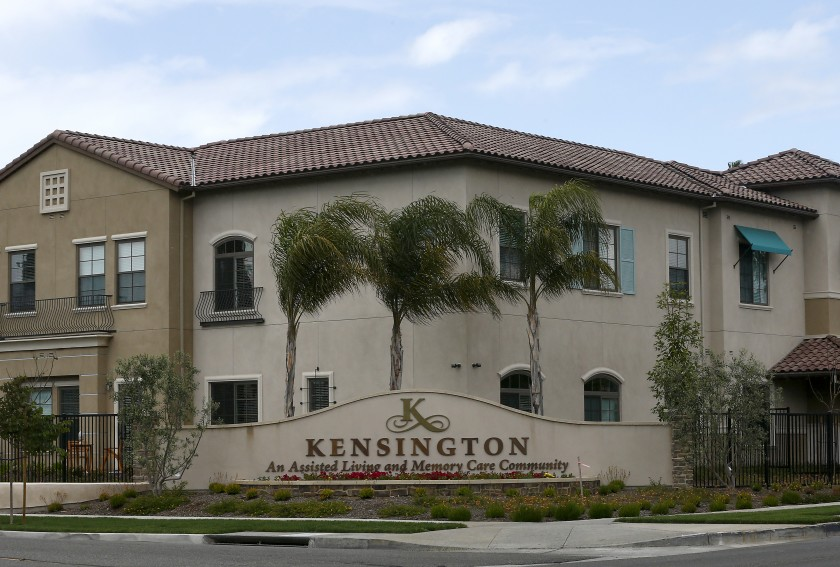 The Kensington Redondo Beach, an assisted living community is seen in an undated photo.(Luis Sinco / Los Angeles Times)