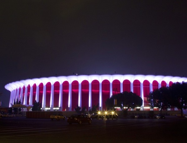 The Forum in Inglewood is a 17,500-seat arena that opened in 1967.(Gina Ferazzi / Los Angeles Times)