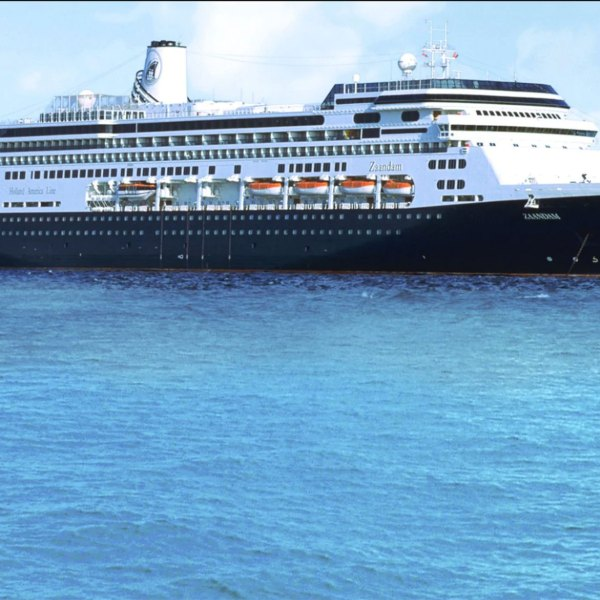 42 people experiencing flu like symptoms are aboard Holland America's Zaandam cruise ship. (Holland America Line)