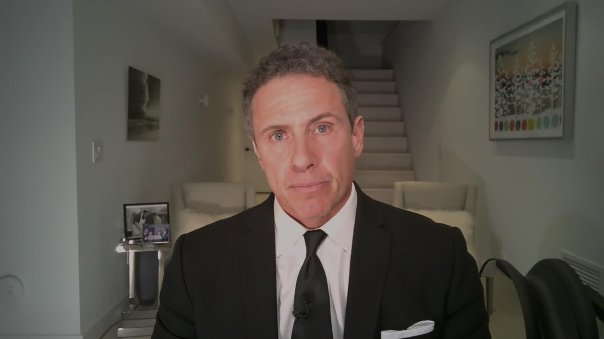 CNN anchor Chris Cuomo was diagnosed with the coronavirus. (CNN)