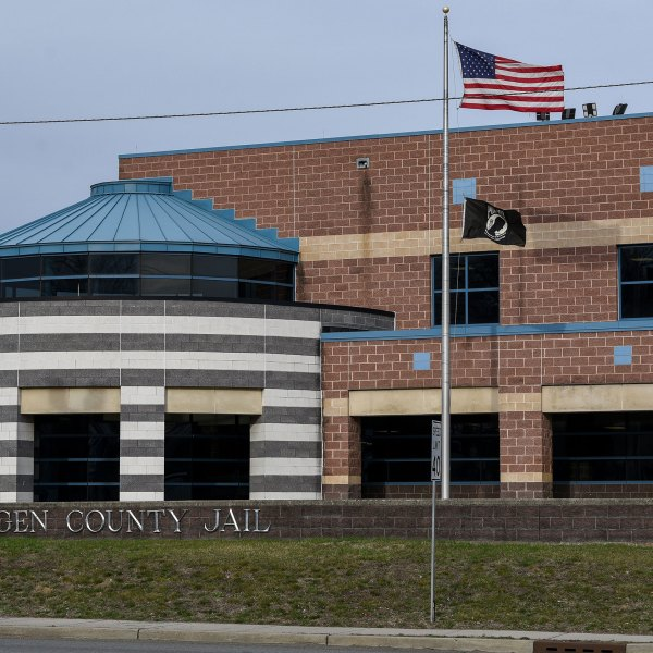 An exterior photo of Bergen County Jail in Hackensack on March 14, 2020. (Bergen County Jail)