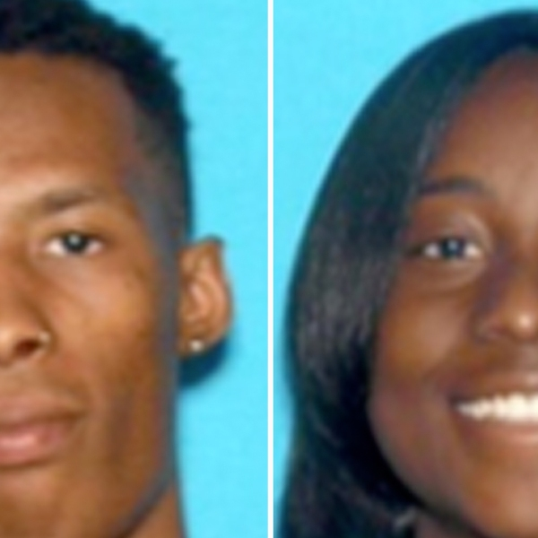Darion Miller, 24, and Janelle Foster, 22, appear in photos released by the San Bernardino Police Department on March 6, 2020.