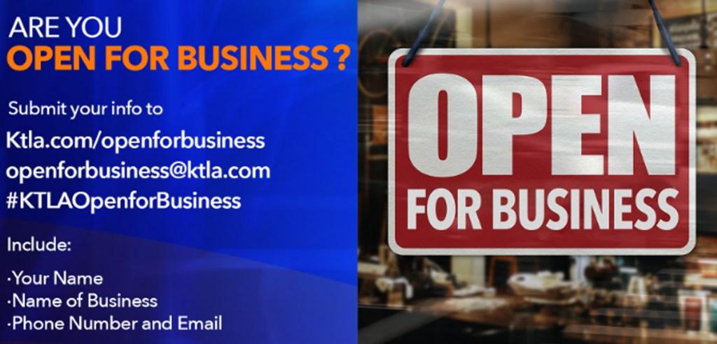 KTLA's Open for Business