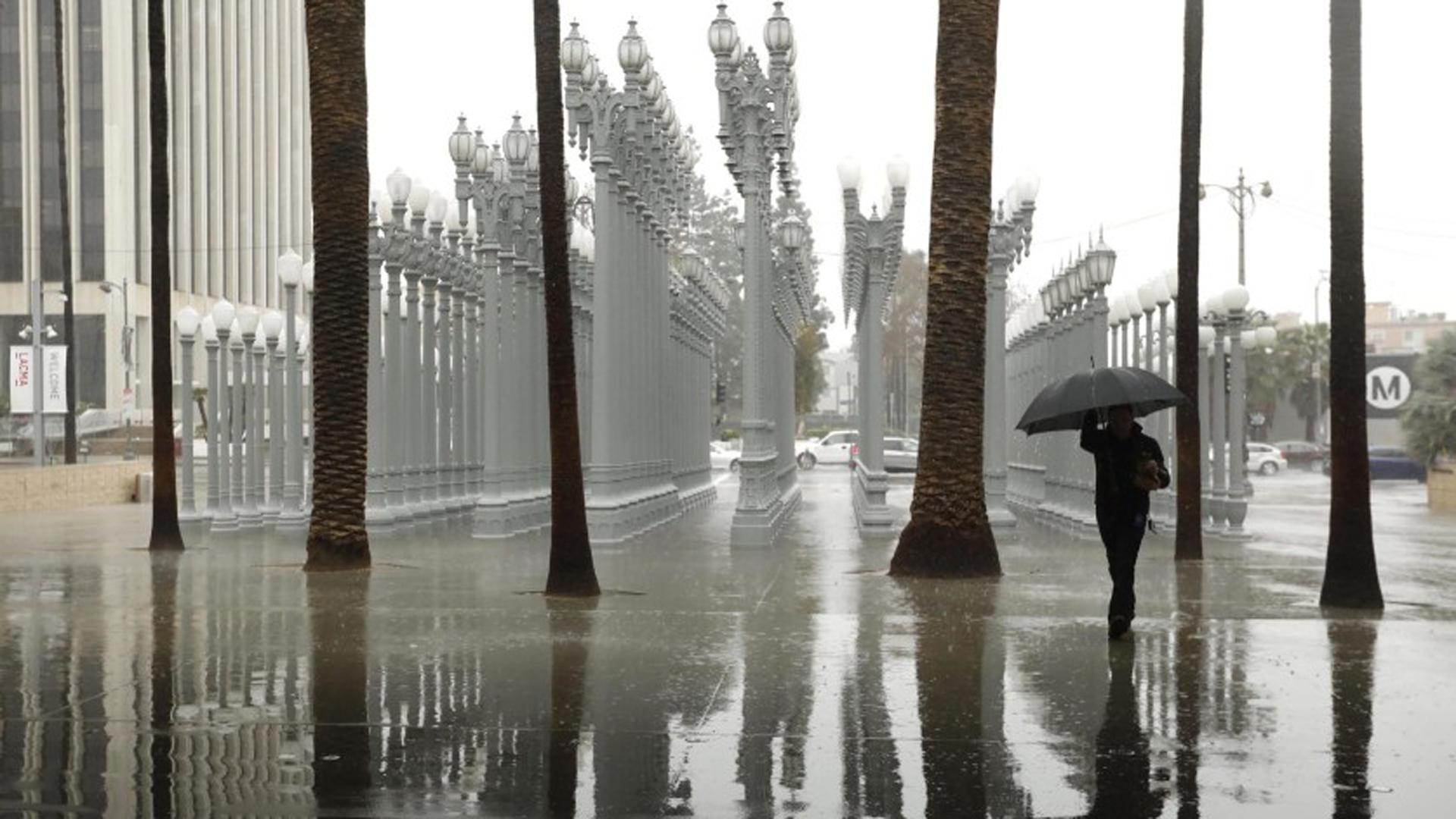 Atmospheric River To Bring Rain To Southern California Next Week Ktla