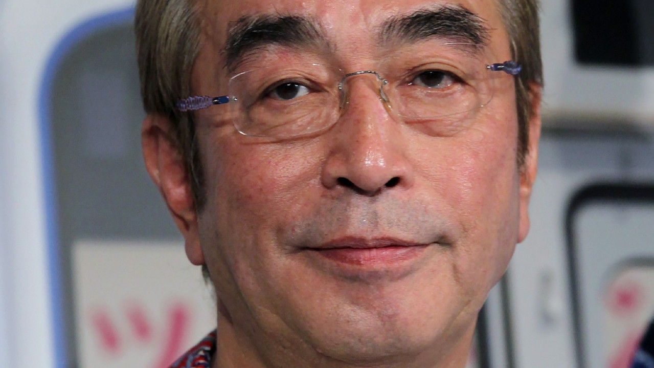 This picture taken on June 3, 2014 shows Japanese comedian Ken Shimura in Tokyo. (STR/JIJI PRESS/AFP via Getty Images)