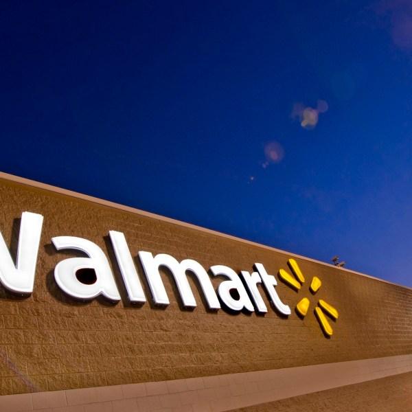 A Walmart is seen in a file photo.