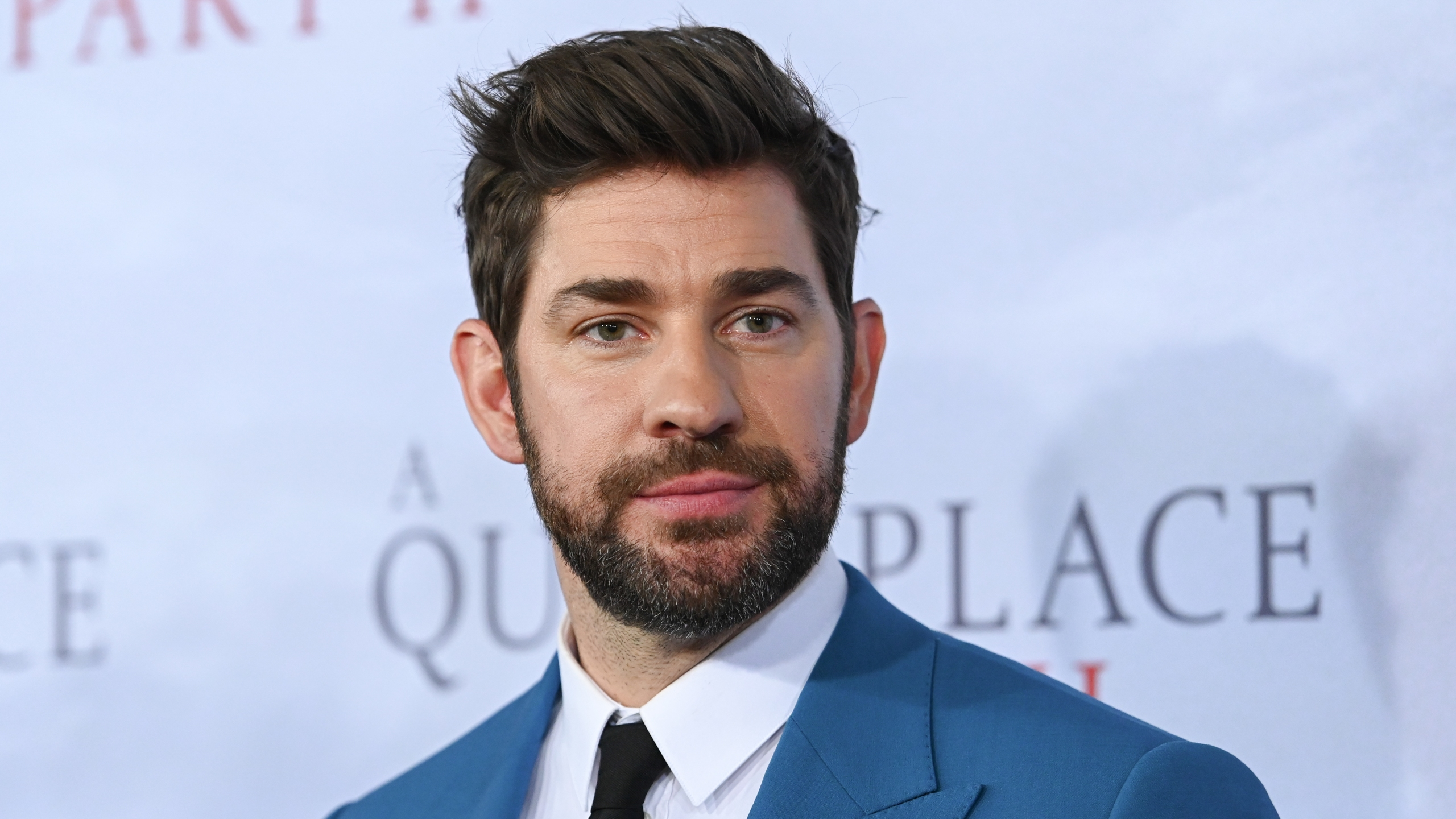 """Actor John Krasinski attends the """"A Quiet Place Part II"""" World Premiere at Rose Theater, Jazz at Lincoln Center on March 08, 2020 in New York City. (Mike Coppola/Getty Images)"""