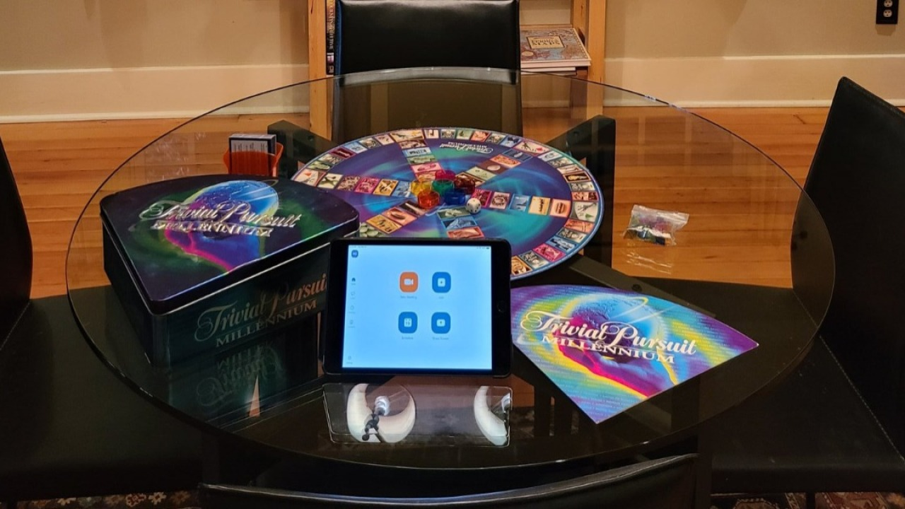 People Are Rigging Up Makeshift Game Nights Using Video Chat
