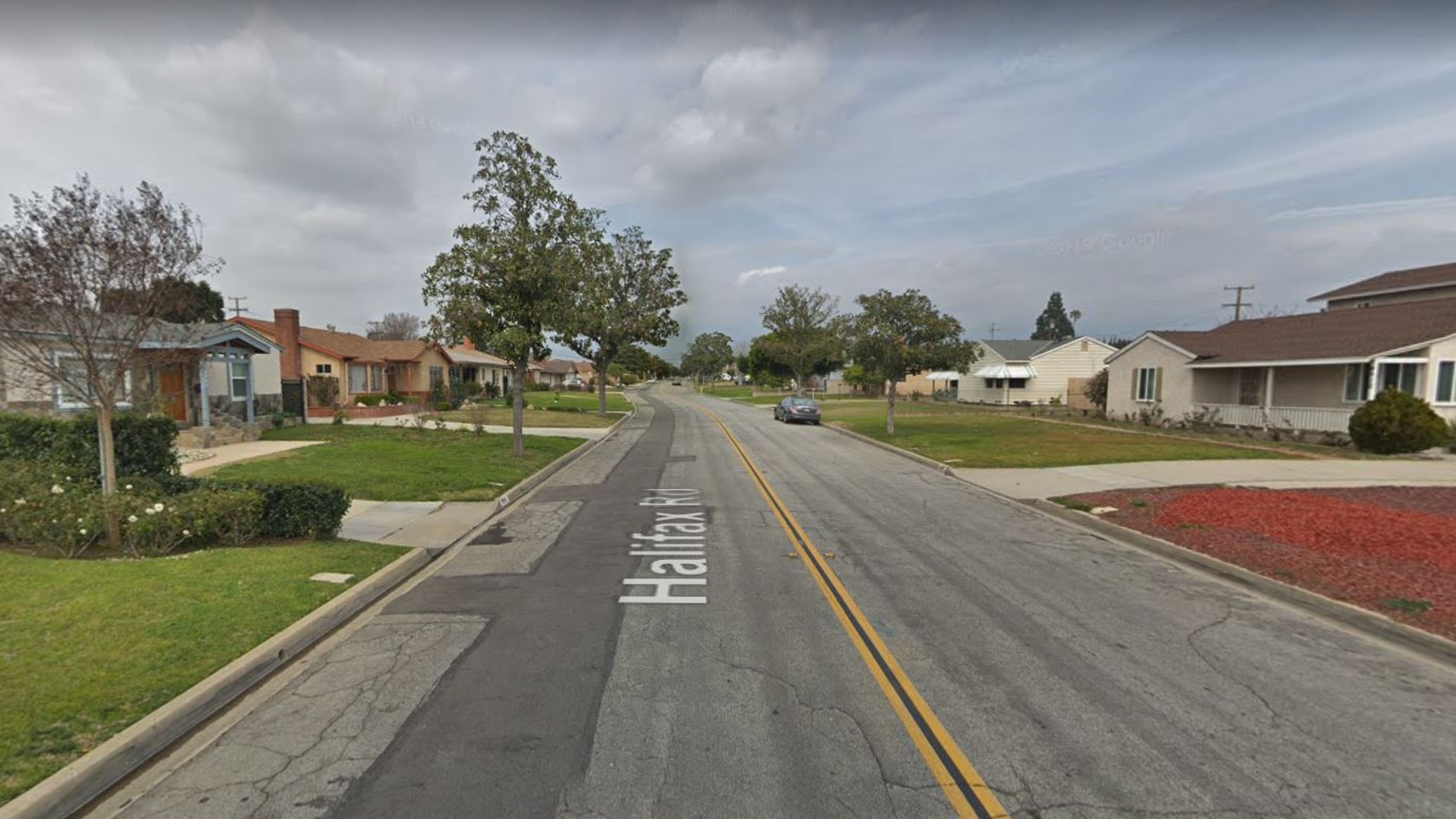 The 4900 block of Halifax Road in Temple City, as viewed in a Google Street View image.