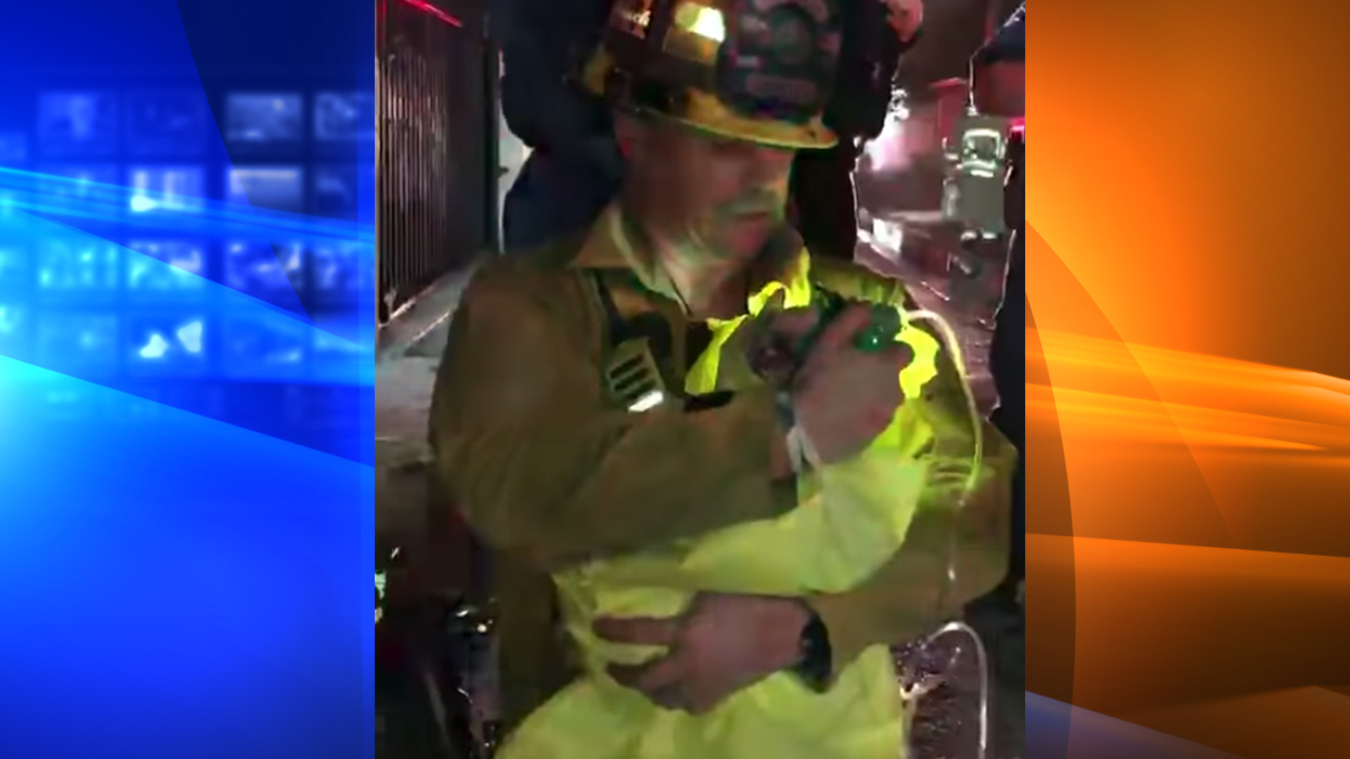 The Downey Fire Department posted a video on April 21, 2020, of a dog being resuscitated with a pet oxygen mask.